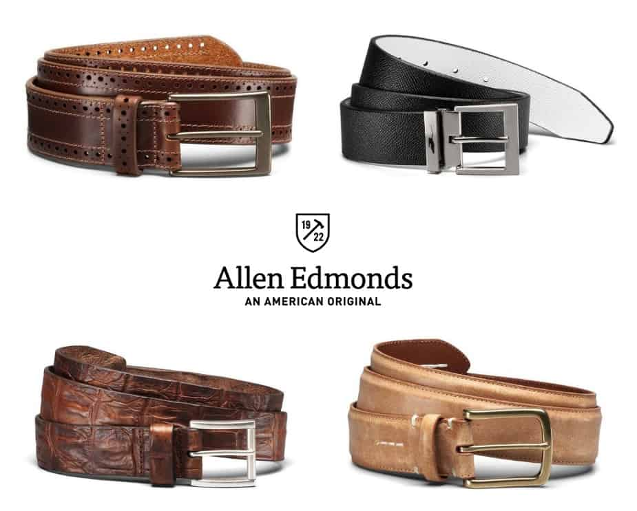 Select Allen Edmonds Belts are Only $49