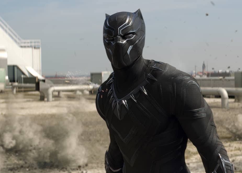 "Black Panther Shows Off Fighting Skills in New ""Captain America: Civil War"" Trailer"