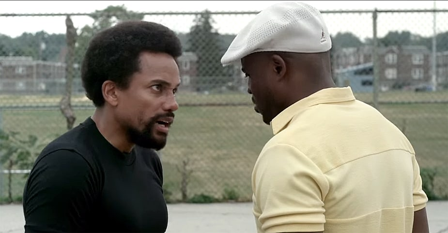 hill harper and wayne brandy in the movie 1982