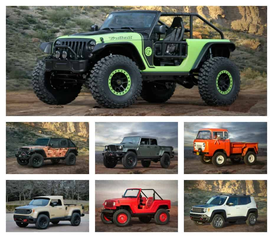 7 Cool Jeep Concept Vehicles Built for 50th Annual Easter Jeep Safari