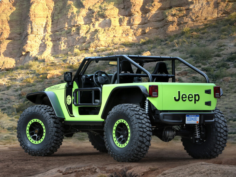 Jeep Trailcat Concept with HEMI v8