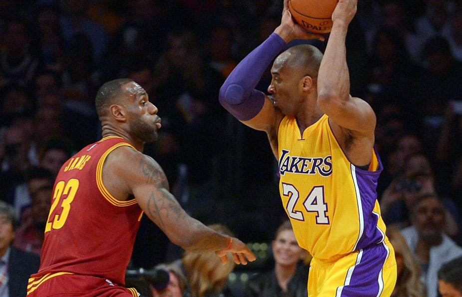 In His Final Game Against the Cavaliers, Kobe Bryant Gets the Best of LeBron James