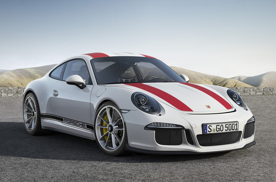 The Porsche 911 R Delivers a High-Performance, Unfiltered Driving Experience