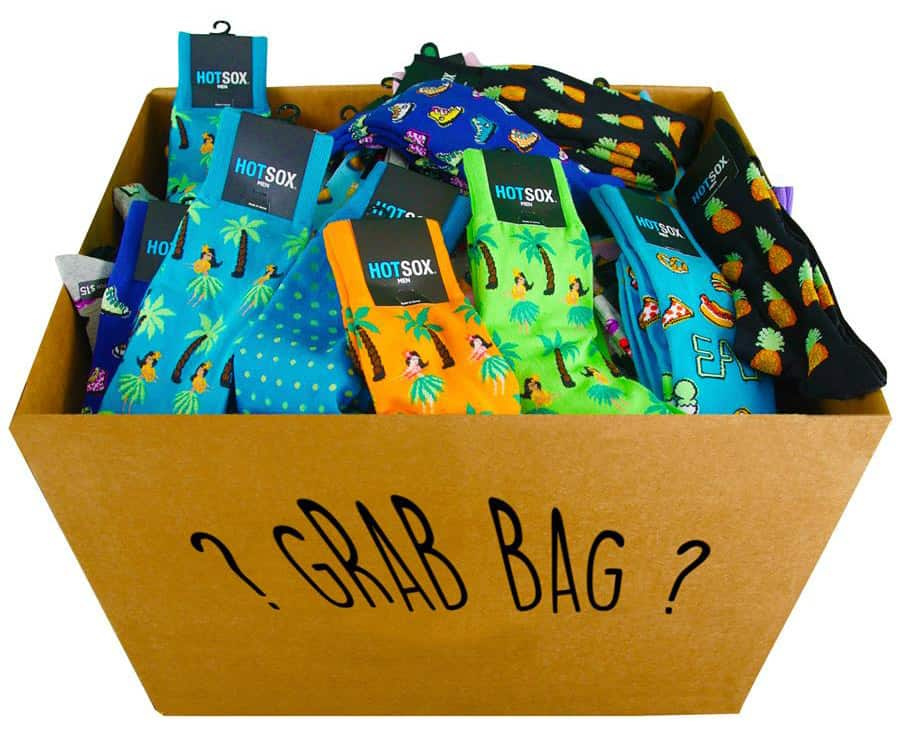 Hot Sox Grab Bag Only $9.99 at Renfro Socks