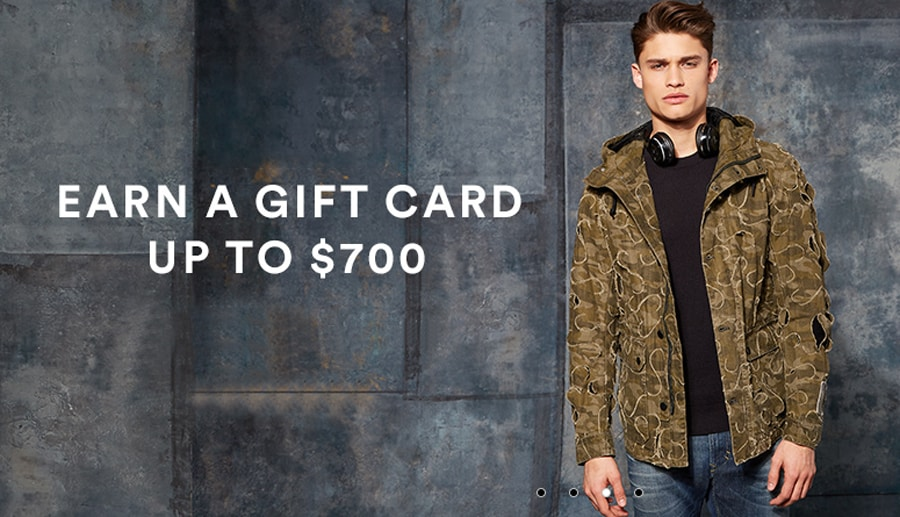 Earn a Gift Card Up to $700 When you Shop at Saks