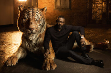 Idris Elba as Shere Khan in the jungle book