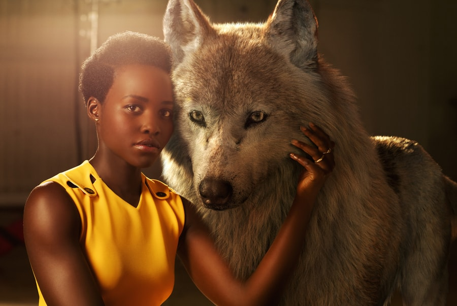 Lupita Nyong'o as Raksha the jungle book