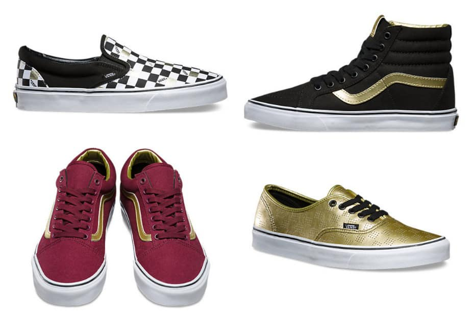 Free Shipping on Vans 50th Anniversary Gold Collection ($49 and above)