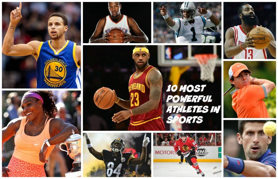 10 Most Powerful Athletes in Sports