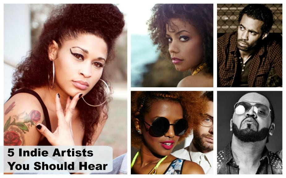 5 Indie Artists You Should Hear – April 2016