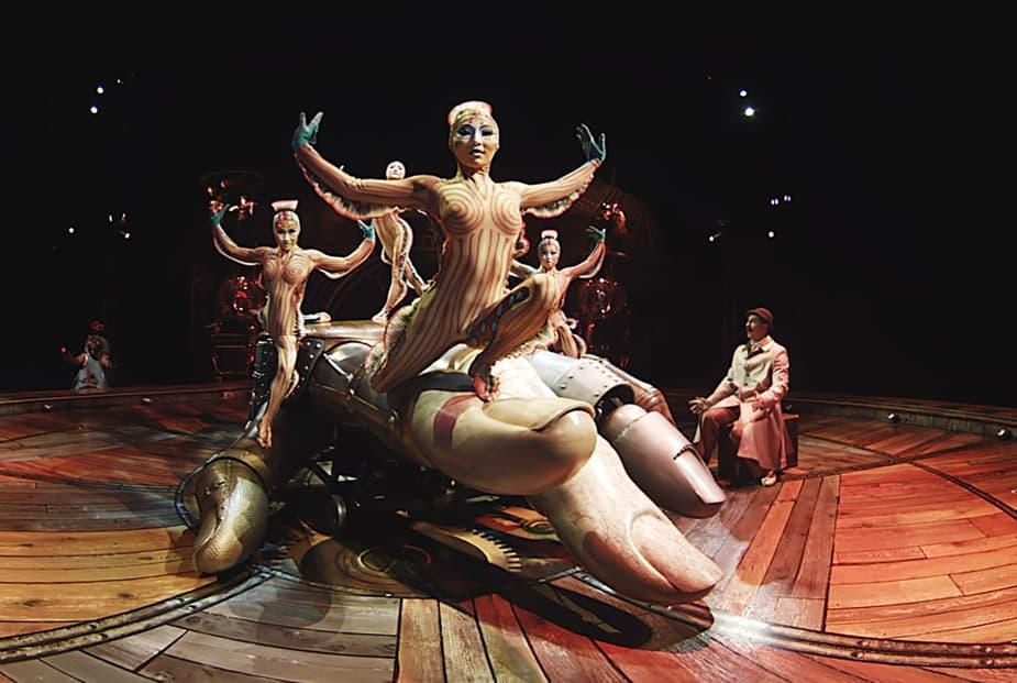 Inside the Box of Kurios Cirque du Soleil
