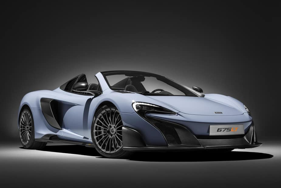 McLaren Builds Track-Honed Edition of 675LT Spider That Can Reach 204 MPH