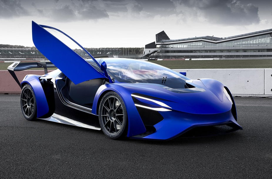 This Electric Supercar Concept Boasts a Top Speed of 217 MPH