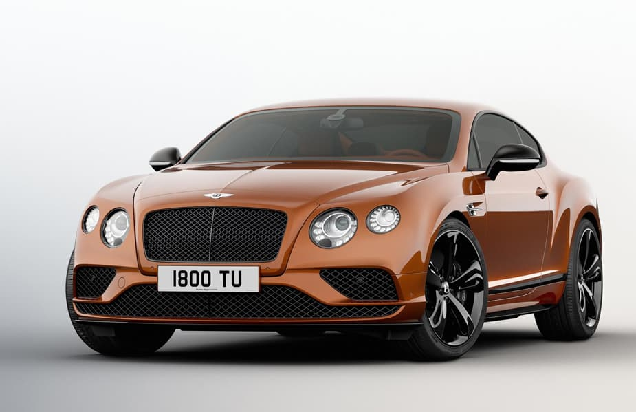 The Bentley Continental GT Speed Black Edition is the Pinnacle of Style and Performance