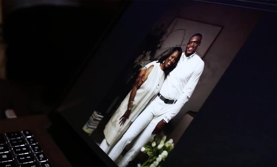 Cam Newton Surprises Mom with Special Mother's Day Photo Shoot