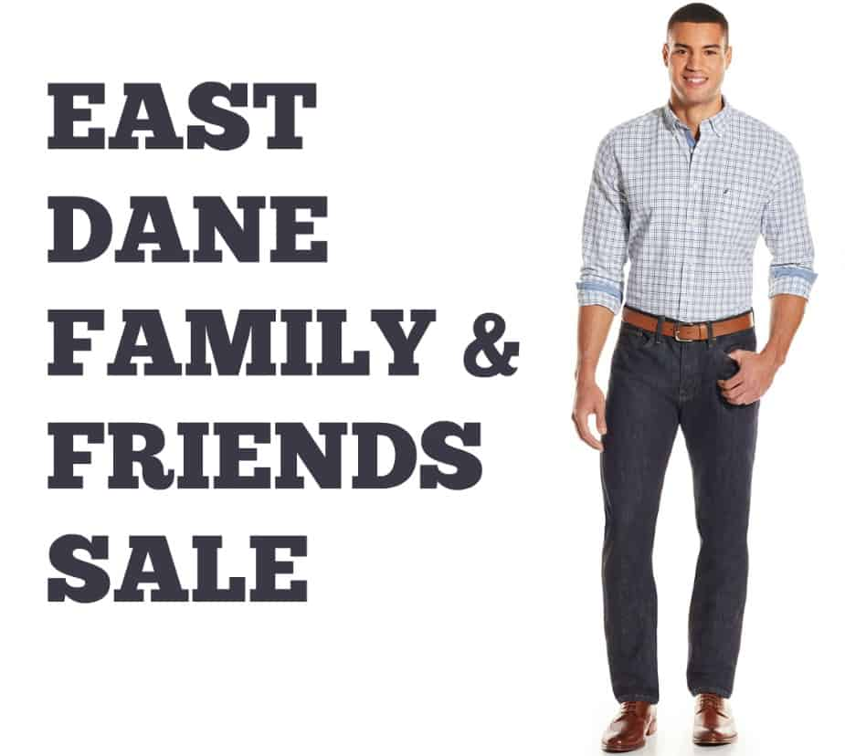 Save 30% Off Menswear During the East Dane Family & Friends Sale