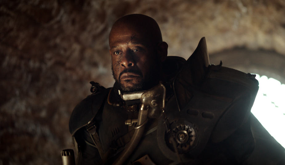 star wars Rogue One forest whitaker