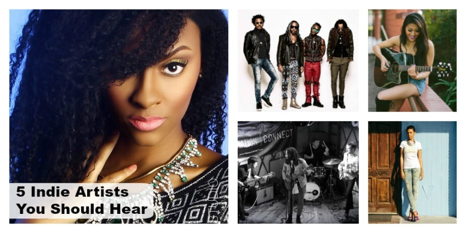 5 Indie Artists You Should Hear – May 2016