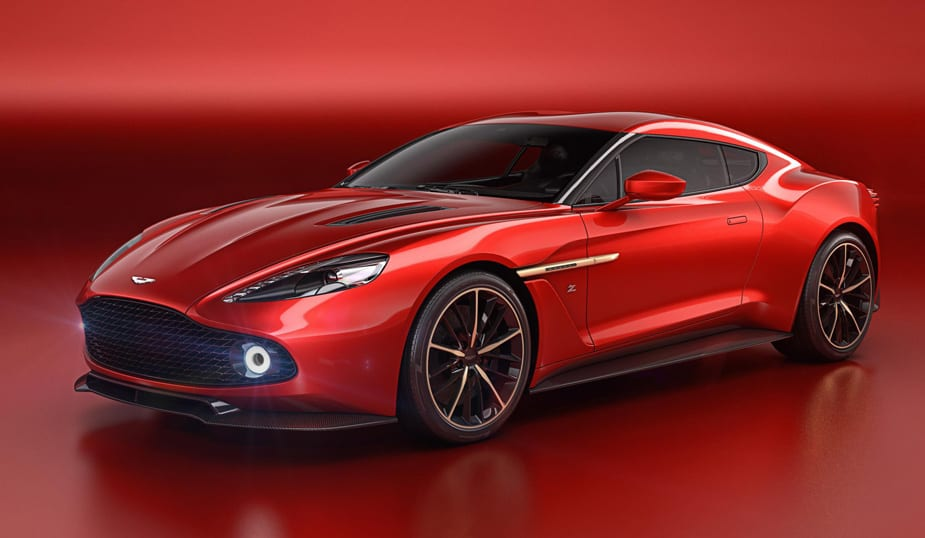 The Aston Martin Vanquish Zagato Concept Showcases Italian Design