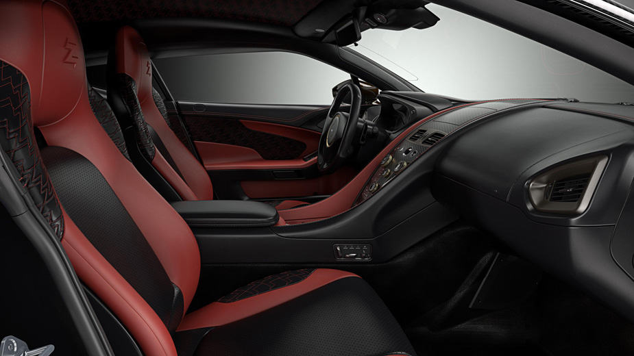 Aston Martin Vanquish Zagato Concept interior