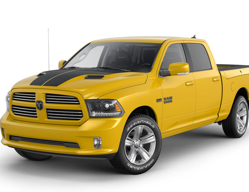 Ram 1500 Stinger Yellow Sport truck