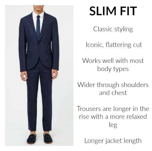 Topman Slim Fit Suit