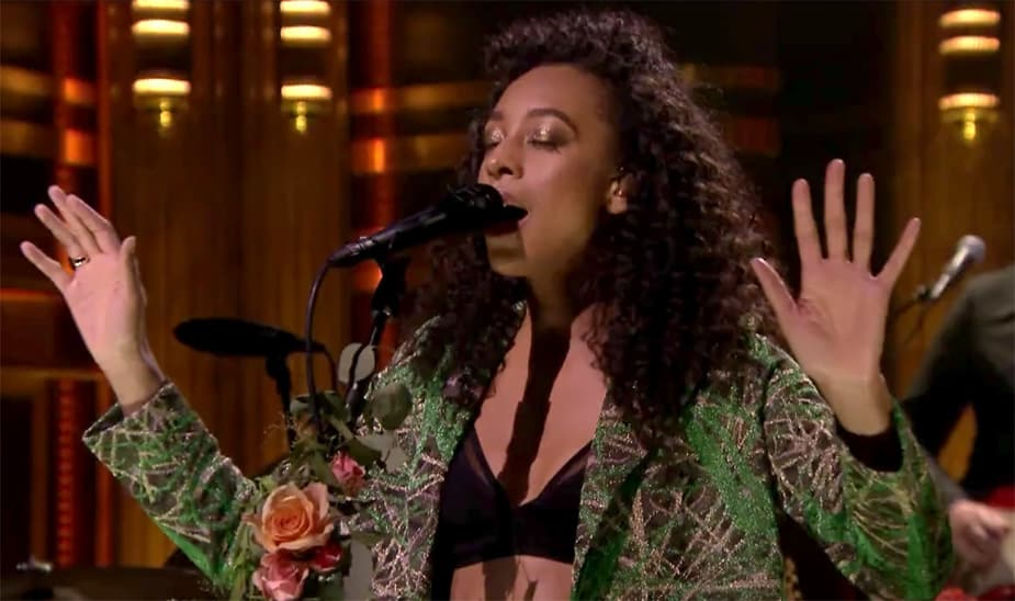 "Corinne Bailey Rae Performs ""Green Aphrodisiac,"" a Song About Blossoming Love"