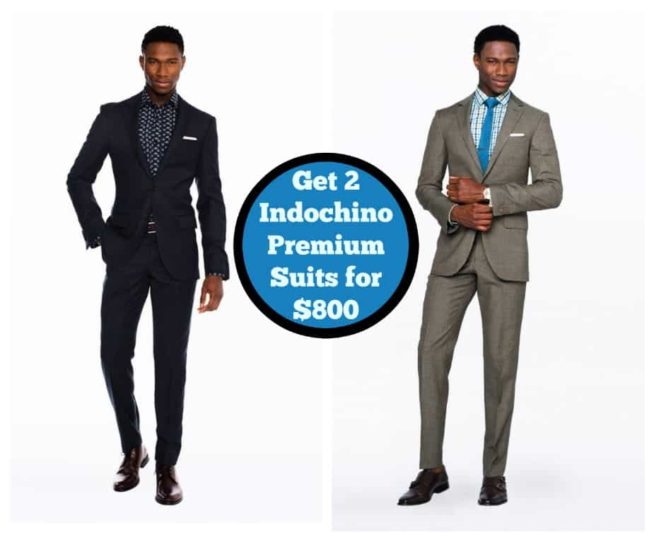 Get Two Indochino Premium Suits for Only $800