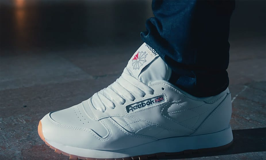 reebok classic leather sneakers