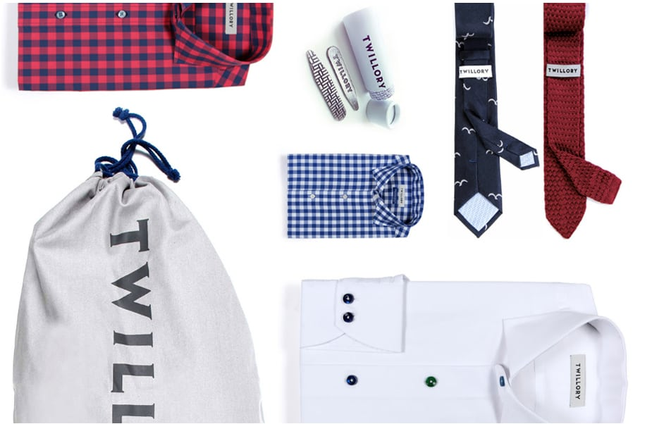 Get a Shirt, Tie, and Collar Stays for Only $85 at Twillory