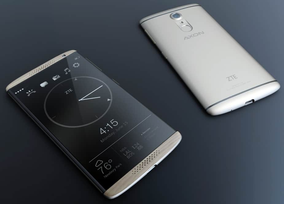 BMW Designworks Collaborates with ZTE to Create the Luxurious AXON 7