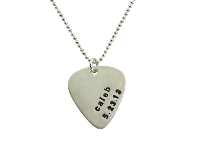 isabelle grace guitar pick necklace