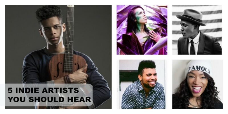 5 INDIE ARTISTS YOU SHOULD HEAR JULY 2016
