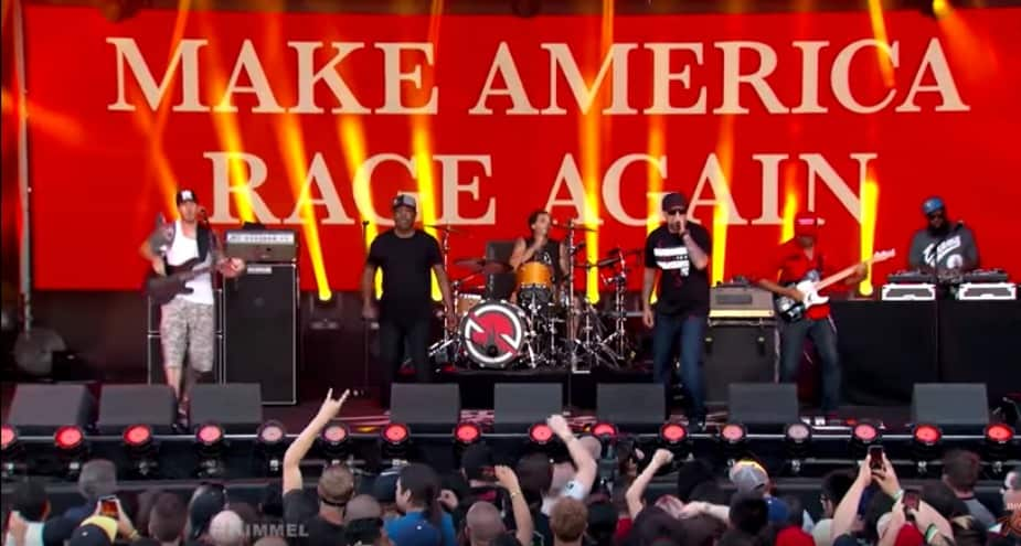 "prophets of rage ""Killing in the Name Of"""