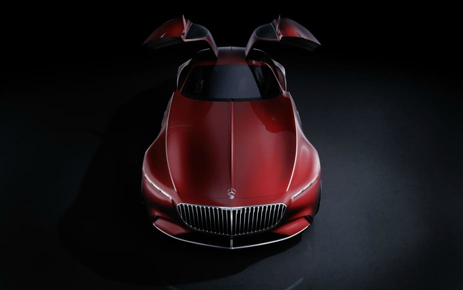 Vision Mercedes-Maybach concept car