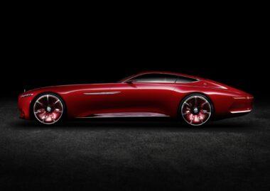 Vision Mercedes-benz Maybach concept car
