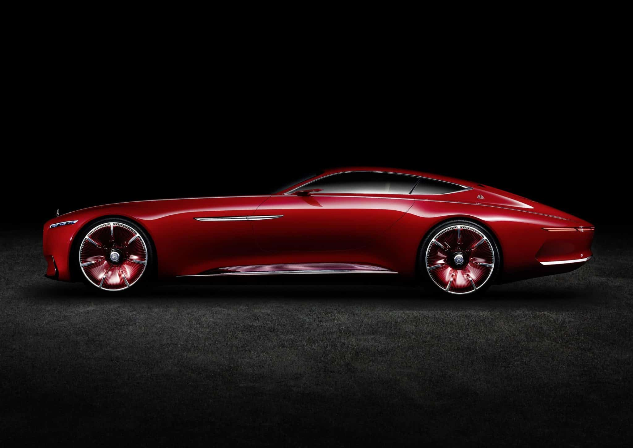 Vision Mercedes-benz Maybach concept car