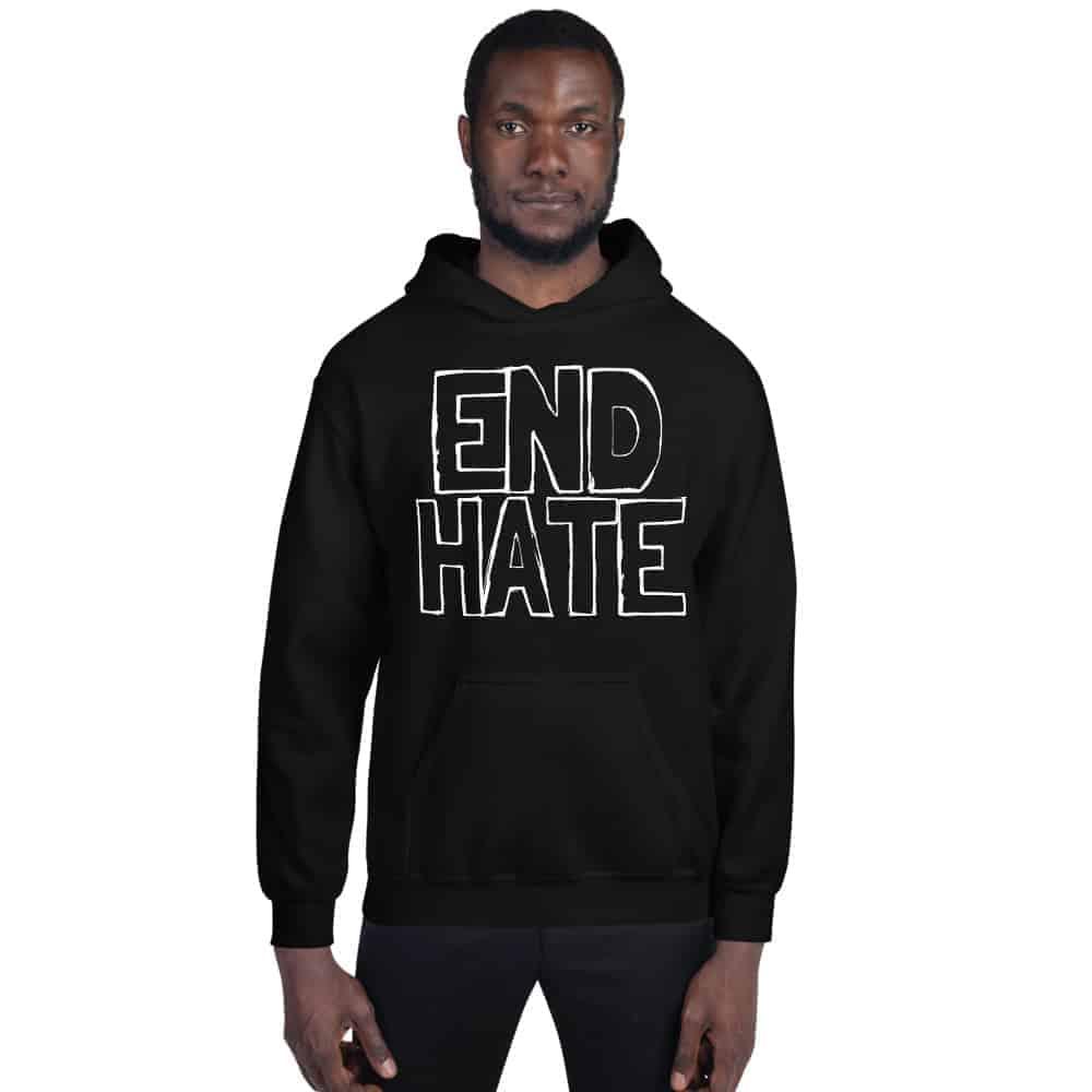 black man in hoodie