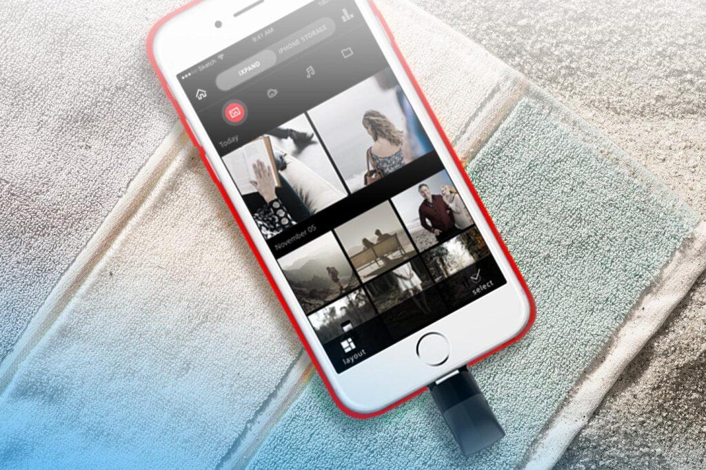sandisk ixpand iphone ipad