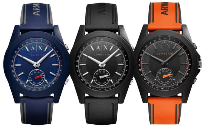 Armani Exchange Introduces New Hybrid Smartwatch Collection