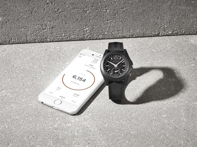 armani smart watch