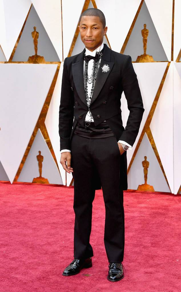 Pharrell Williams academy awards oscars red carpet fashion