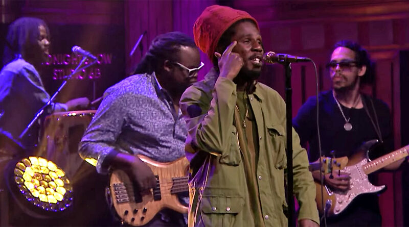 chronixx jimmy fallon tonight show