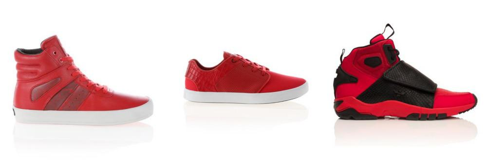 Take 25% off All Red Shoes at Creative Recreation