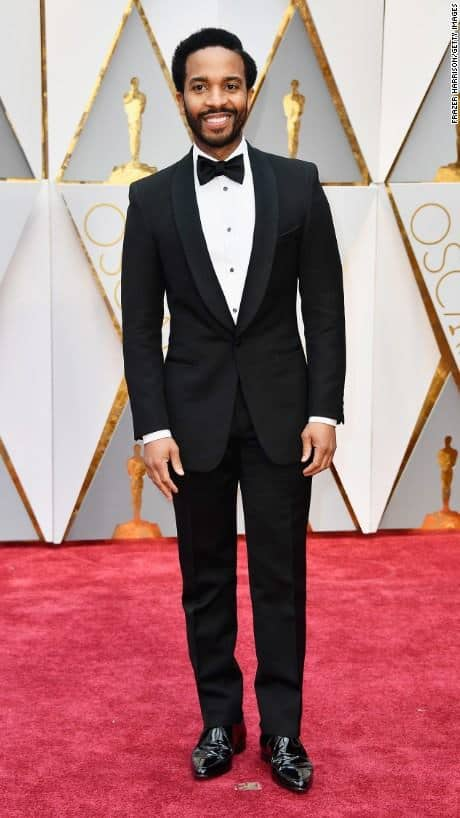 Andre Holland academy awards oscar red carpet fashion