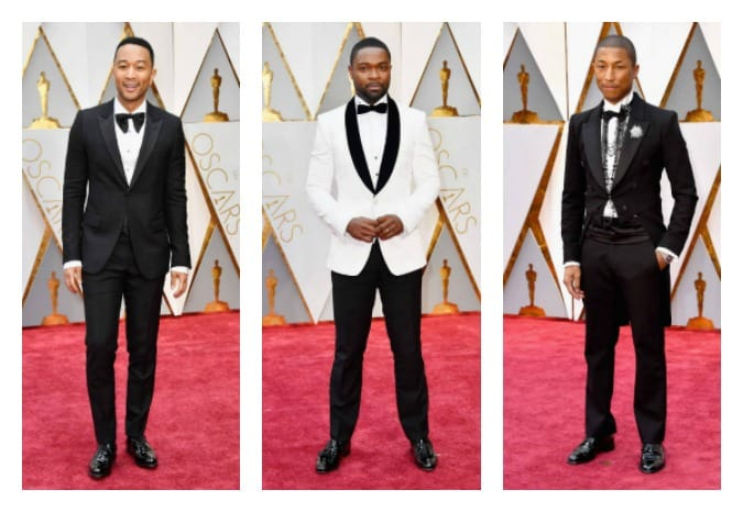 Sharp-Dressed Men Show Off Their Oscars Red Carpet Fashion