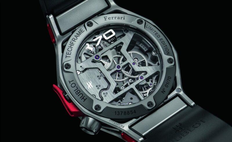 Hublot Techframe Ferrari 70 Years