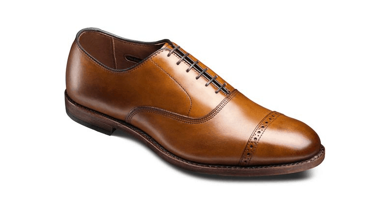 ALLEN EDMONDS FIFTH AVENUE CAP-TOE OXFORDS