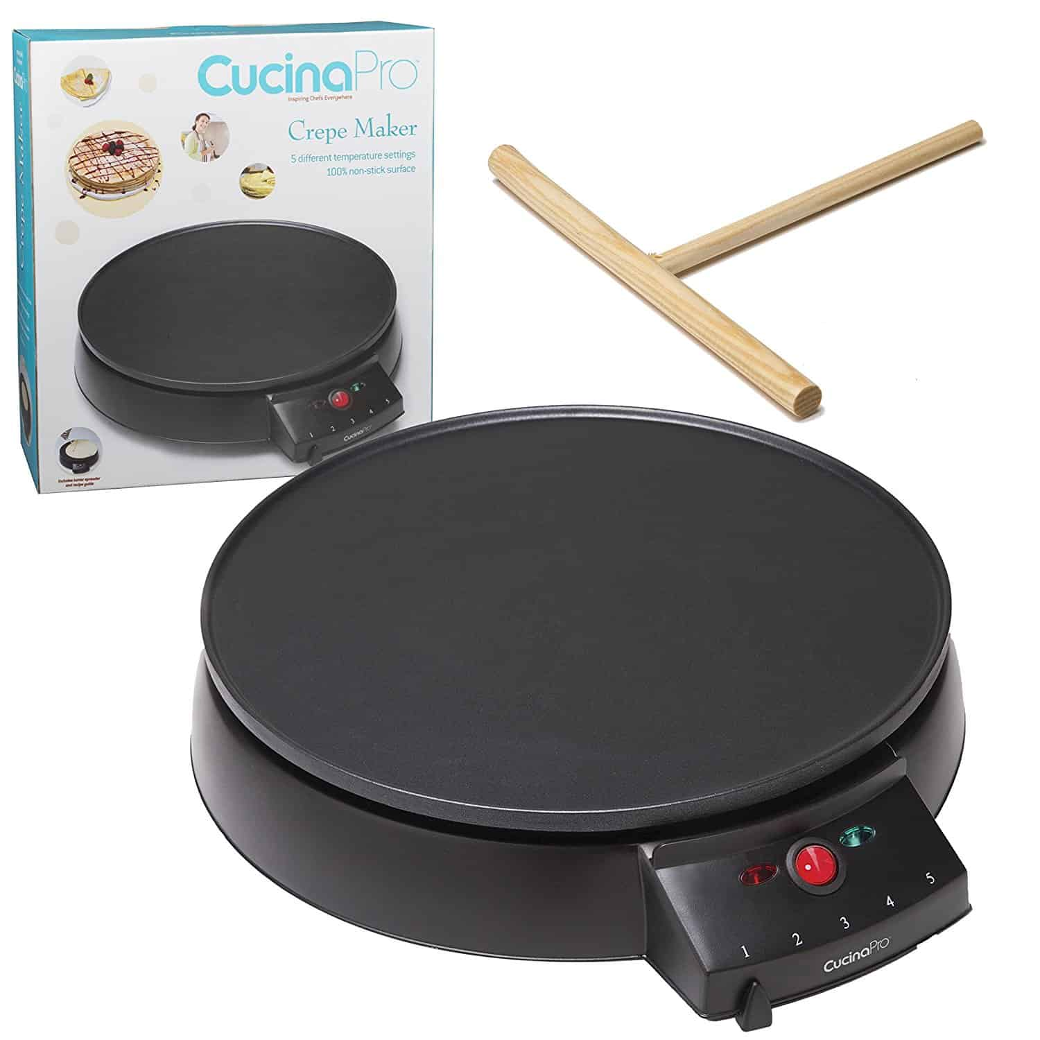 CucinaPro's Electric Griddle and Crepe Maker