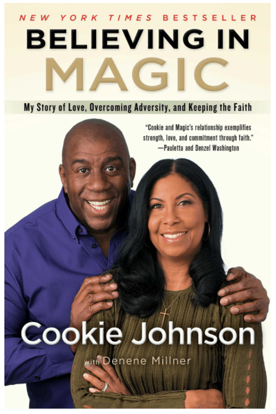 believing in magic cookie johnson magic johnson